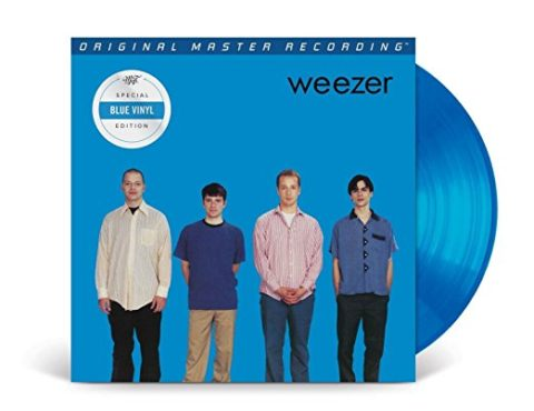Weezer  – (Limited Blue Colored 180g Vinyl)  Original Recording Remastered